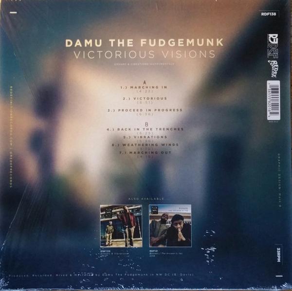 Damu The Fudgemunk - Victorious Visions (LP) (Back)