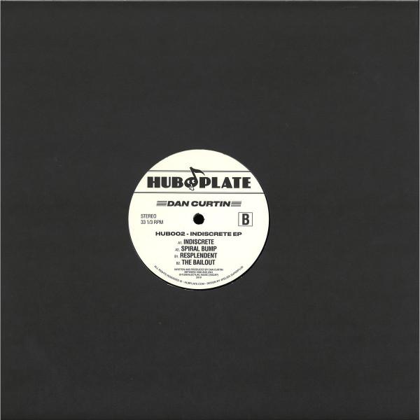 Dan Curtin - Indiscrete EP (Back)