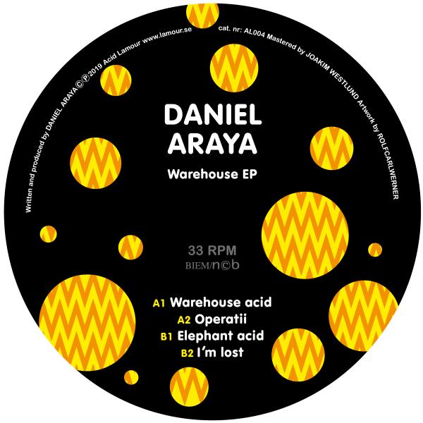 Daniel Araya - Warehouse EP