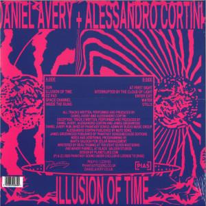 Daniel Avery & Alessandro Cortini - Illusion of Time (Ltd. Edition LP+MP3) (Back)