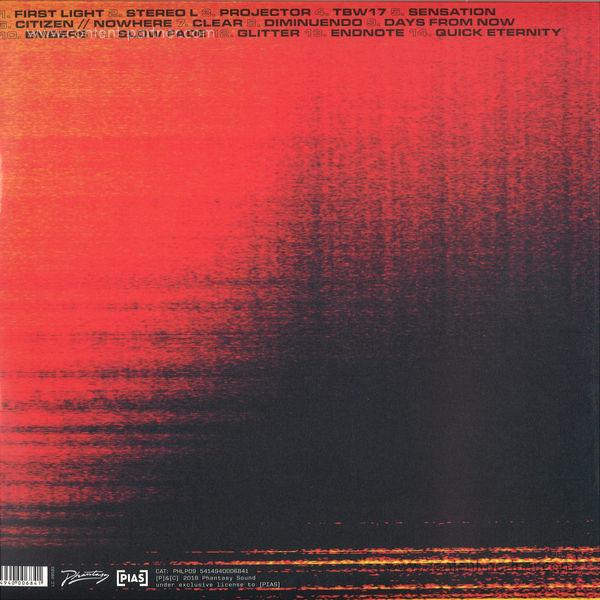 Daniel Avery - Song For Alpha (2LP) (Back)