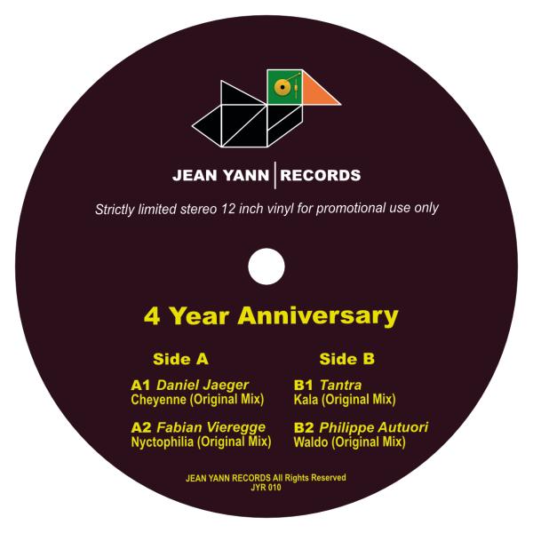 Daniel Jaeger, Fabian Vieregge, Tantra, P. Autuori - 4 Year Anniversary