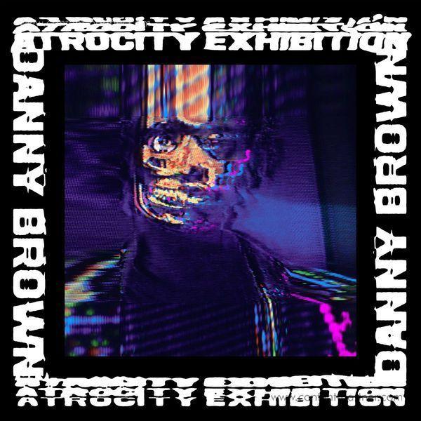 Danny Brown - Atrocity Exhibition (2LP+MP3) (Back)