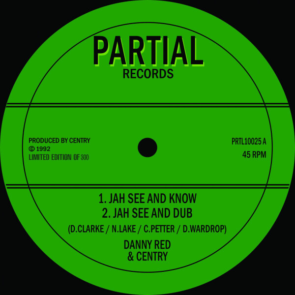 Danny Red - Jah See and Know (Back)