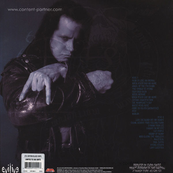 Danzig - Lost Tracks (180g Black Vinyl) (1 per Customer!) (Back)