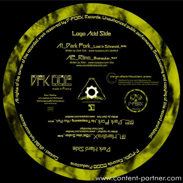 Dark Fork - No Trespassing After Dark EP (BACK IN) (Back)