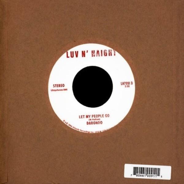 Darondo - Leg / Let My People Go (Back)