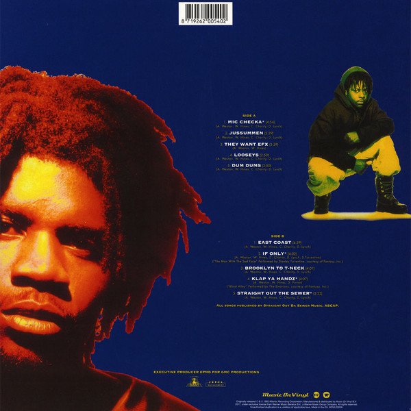 Das EFX - Dead Serious (180g LP) (Back)
