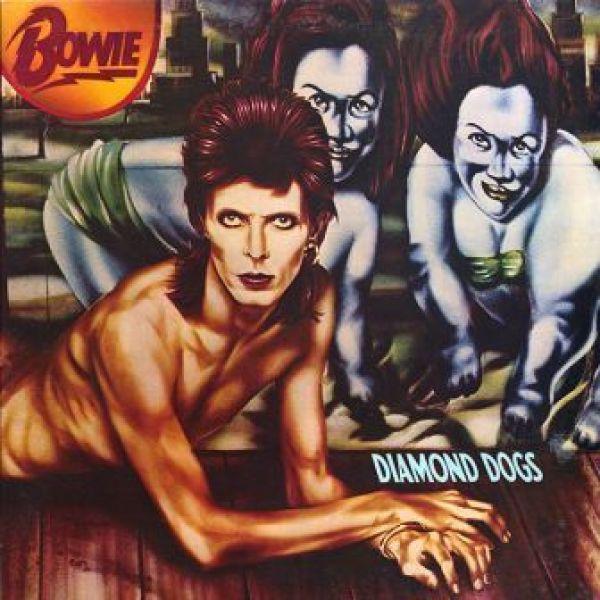 David Bowie - Diamond Dogs (45 Anniv. Red Vinyl LP)