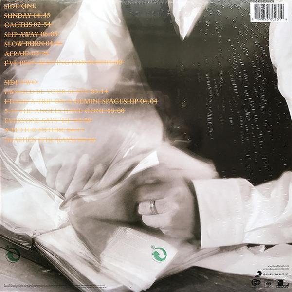 David Bowie - Heathen (180g Black Vinyl) (Back)