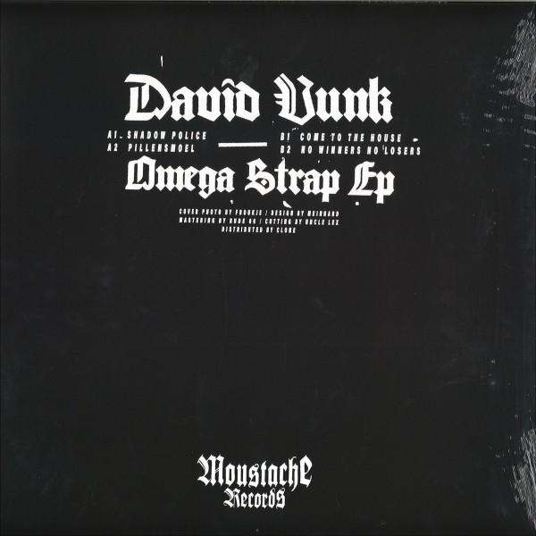 David Vunk - Omega Strap EP (Back)