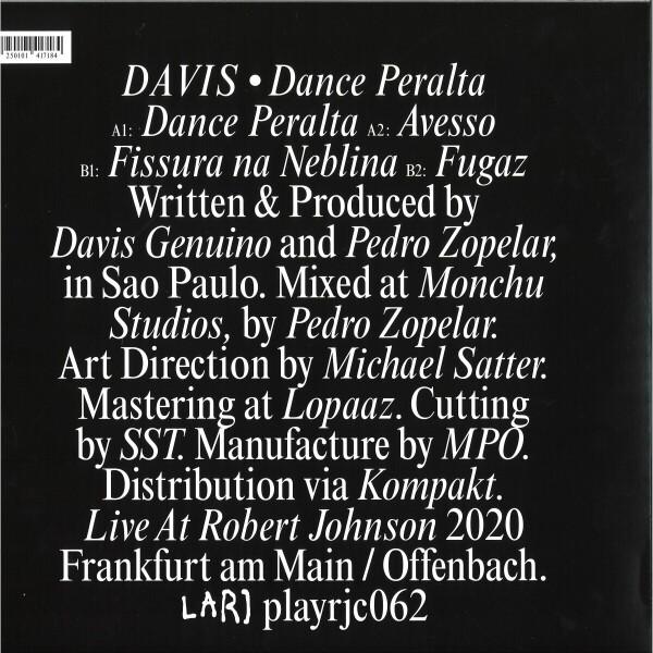 Davis - Dance Peralta (Back)