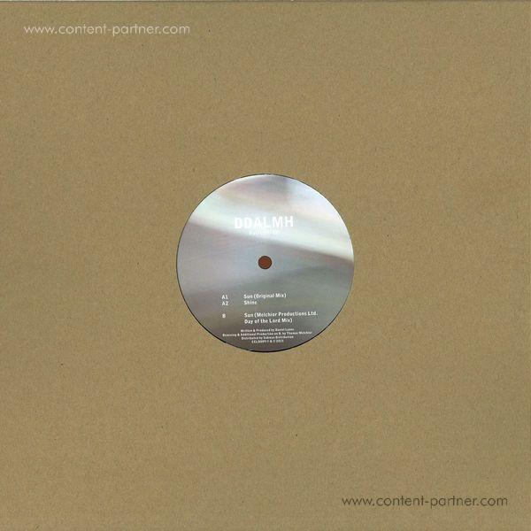 Ddalmh - Petrichor EP (Vinyl Only) (Back)