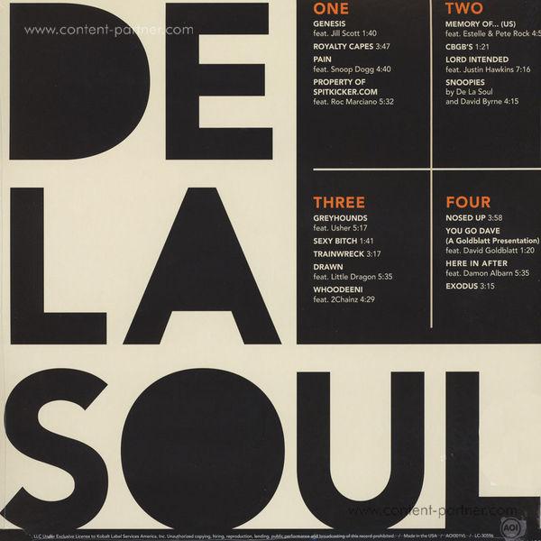 De La Soul - And The Anonymous Nobody (2LP+MP3) (Back)