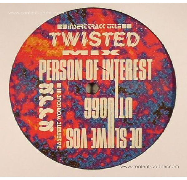 De Sluwe Vos - Insert Track Title EP (Back)