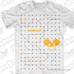 Deadmau5 T-Shirt - DOT TO DOT Large