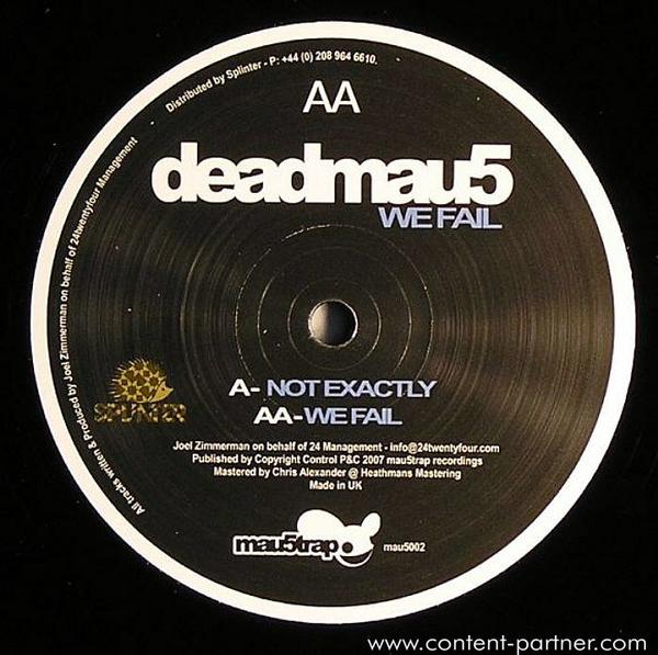 Deadmau5 - Not Exactly (Back)