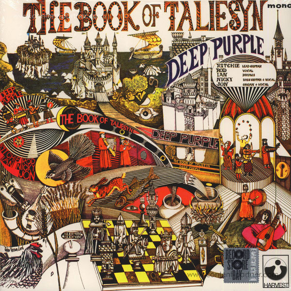 Deep Purple - Book of Taliesyn (Mono)  (RSD 2015)