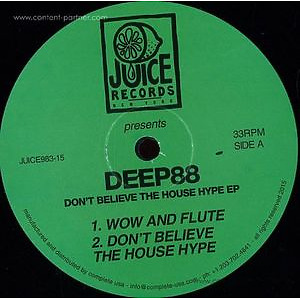Deep88 - Don't Believe the House Hype