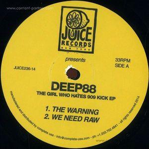 Deep88 - The Girl Who Hates 909 Kick Ep