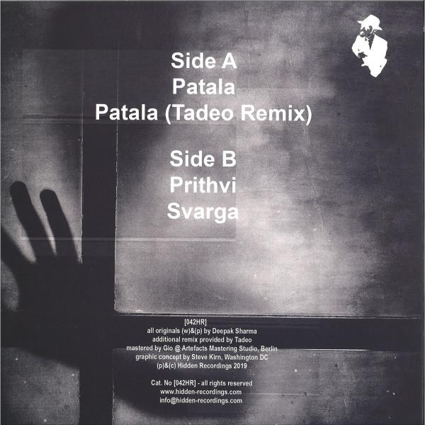 Deepak Sharma - Patala Tadeo Remix (Back)
