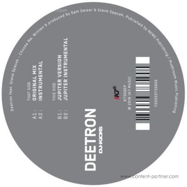 Deetron Feat. Steve Spacek - Choose Me