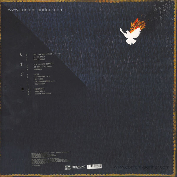 Deichkind - Arbeit nervt (Vinyl) (Back)