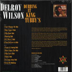 Delroy Wilson - Dubbing at King Tubby's (Vinyl LP) (Back)