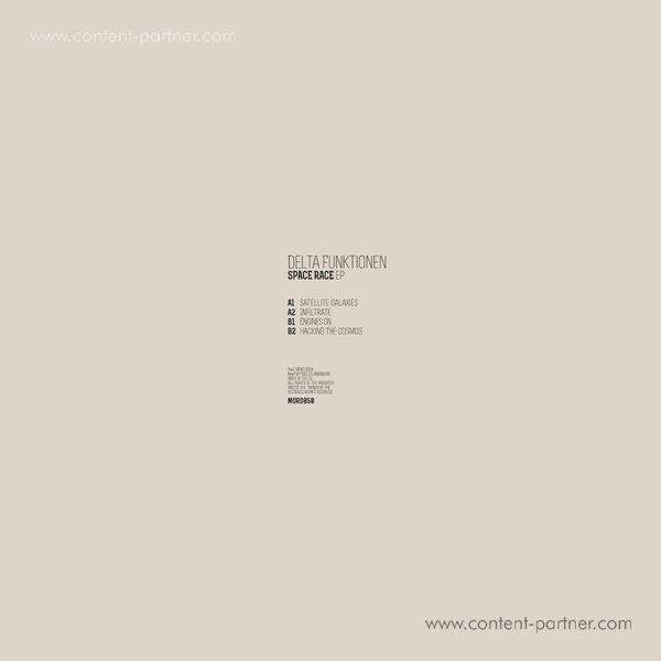 Delta Funktionen - Space Race EP (Back)