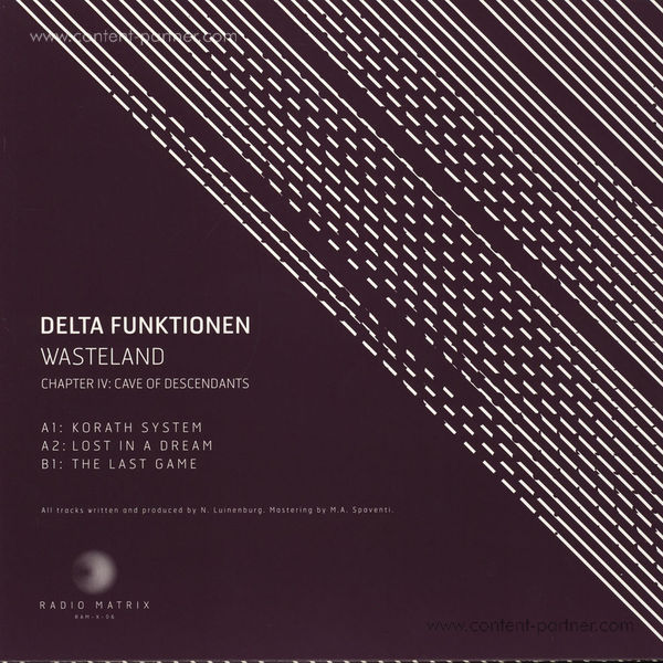 Delta Funktionen - Wasteland - Chapter IV:  Lifewater Oasis (Back)