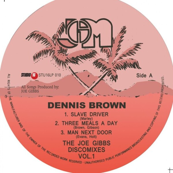 Dennis Brown - The Joe Gibbs Discomixes Vol.1