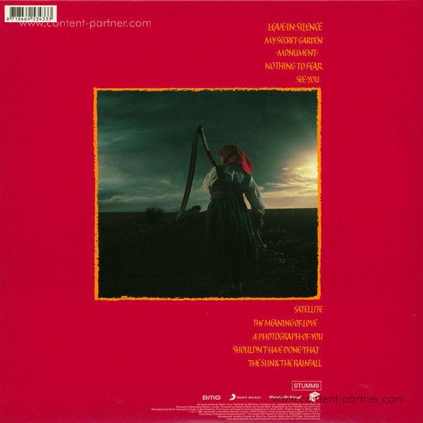 Depeche Mode - A Broken Frame (180g LP) (Back)