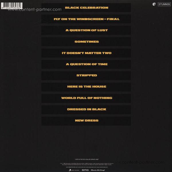 Depeche Mode - Black Celebration (LP 180g) (Back)