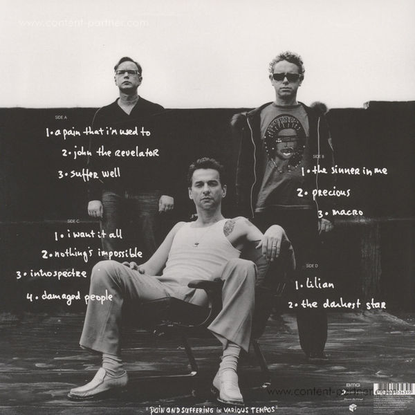 Depeche Mode - Playing The Angel (180g 2LP/Gatefold) (Back)