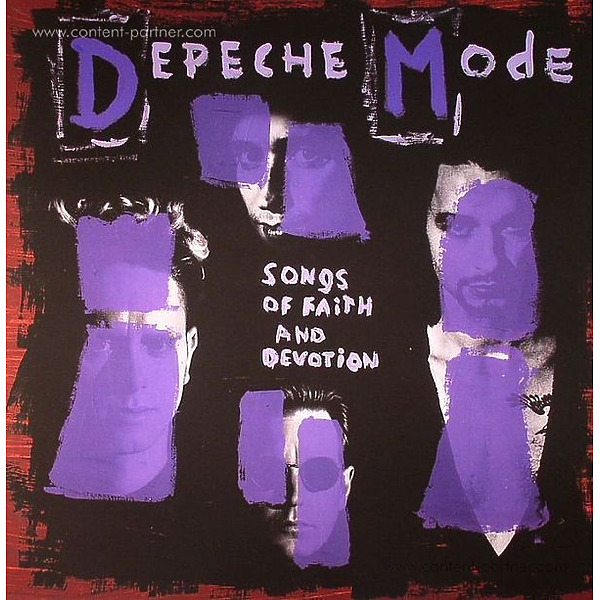 Depeche Mode - Songs Of Faith and Devotion (LP 180g)