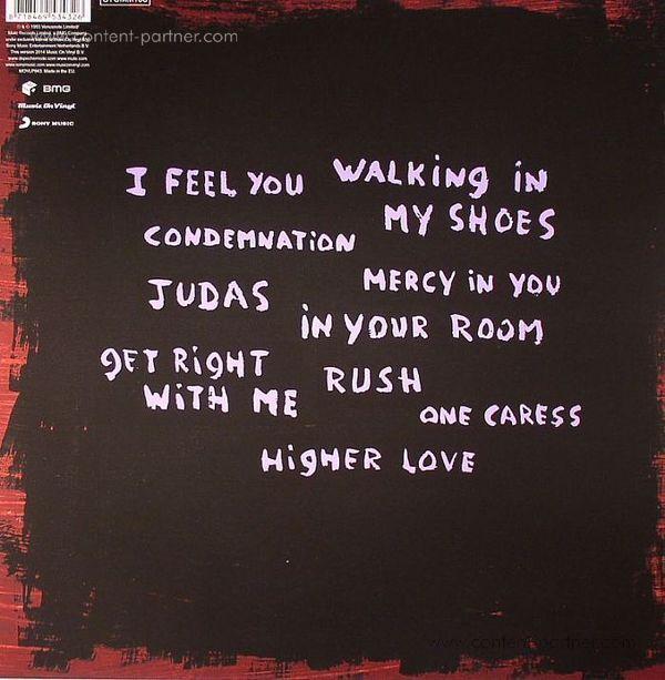 Depeche Mode - Songs Of Faith and Devotion (LP 180g) (Back)