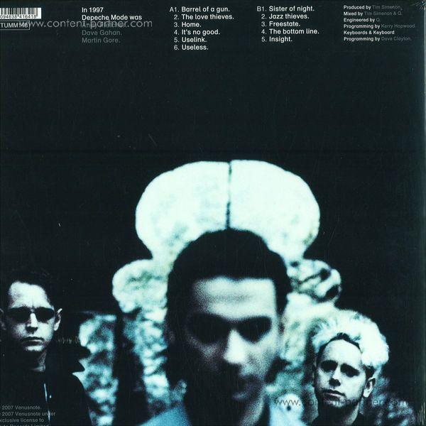 Depeche Mode - Ultra (180g LP, Gatefold) (Back)