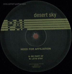 Desert - Need For Affiliation