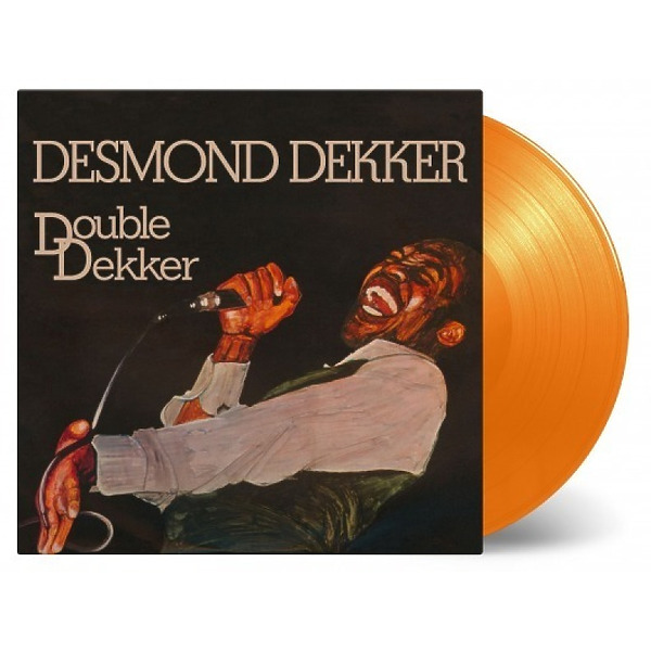 Desmond Dekker - Double Dekker (Ltd. Orange Vinyl 2LP) (Back)