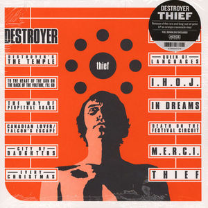 Destroyer - Thief (Opaque orange Vinyl)