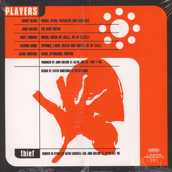 Destroyer - Thief (Opaque orange Vinyl) (Back)