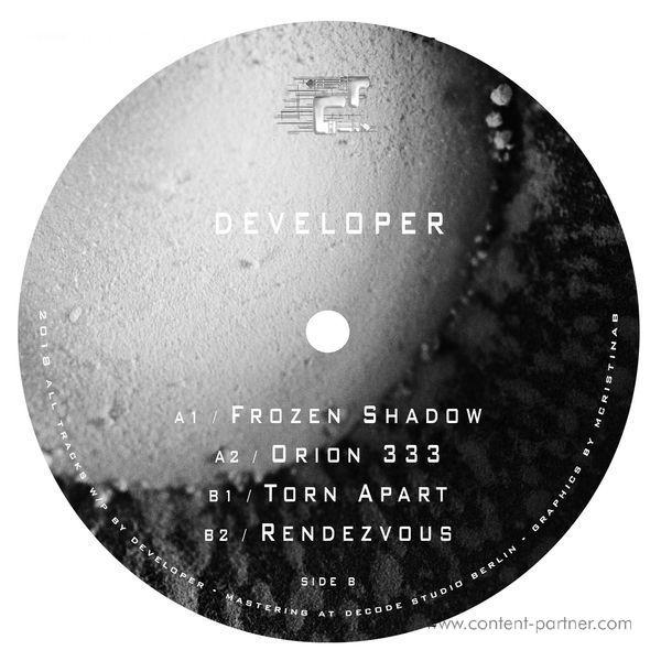 Developer - Vapor Channel EP (Back)