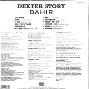 Dexter Story - Bahir (LP) (Back)