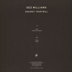 Dez Williams - Against Your Will (Back)