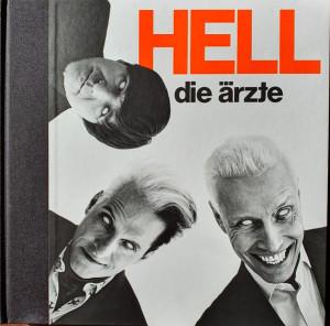 Die Ärzte - HELL (181g Doppelvinyl-Buch) (Back)
