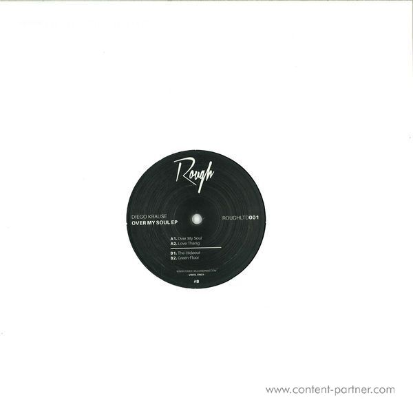 Diego Krause - Over My Soul (Vinyl Only) (Back)