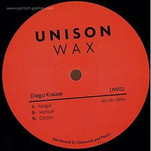 Diego Krause - Unison Wax 02 (Vinyl Only)