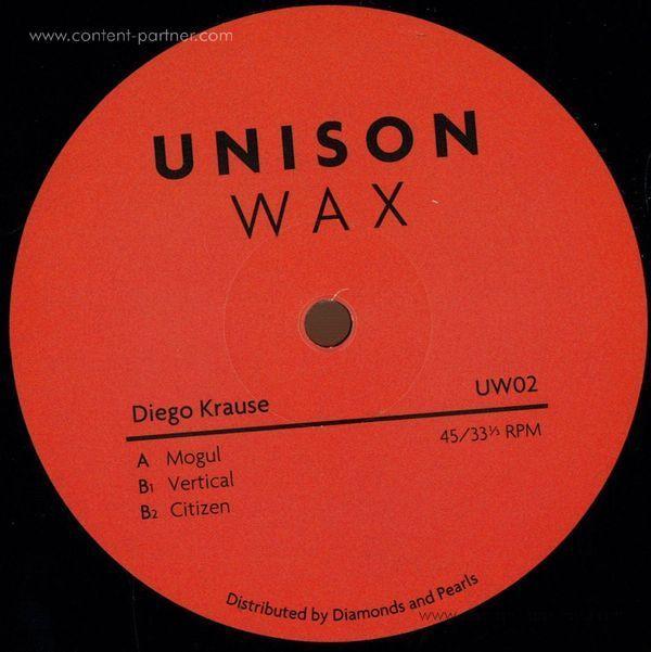 Diego Krause - Unison Wax 02 (Vinyl Only)