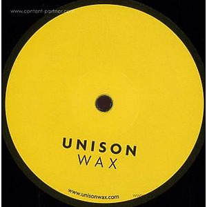 Diego Krause - Unison Wax 04 (Vinyl Only)