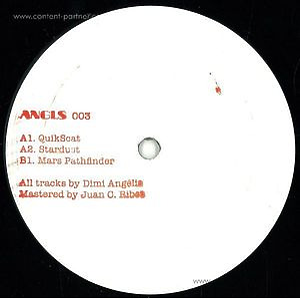 Dimi Angelis - ANGLS003 ( Vinyl Only)